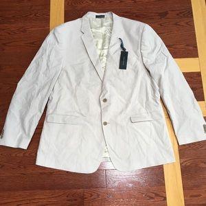 Tommy Hilfiger Gibbs Striped Sport Coat size 48L
